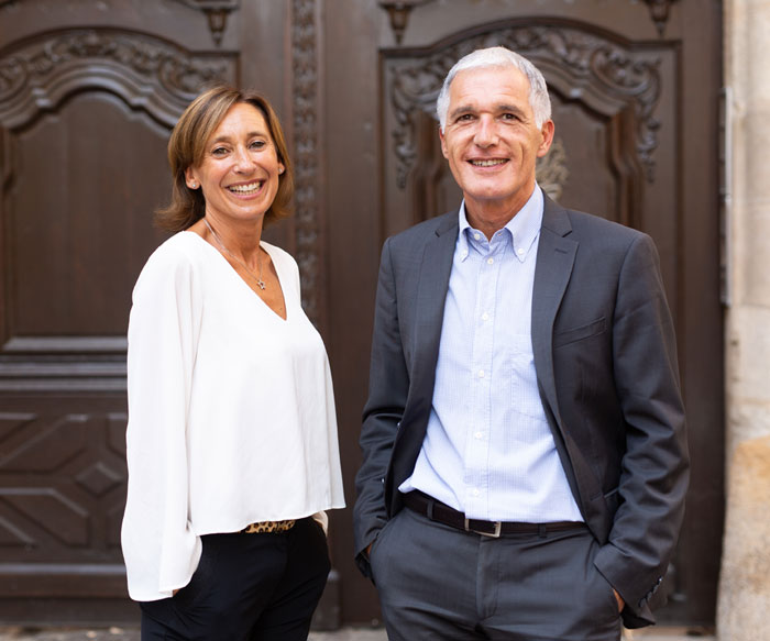 Florence Wiart et Philippe Milani